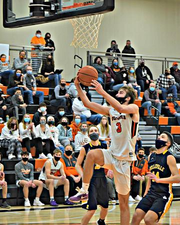 Belleville @ Dodgeville Boys Basketball 2-16-21