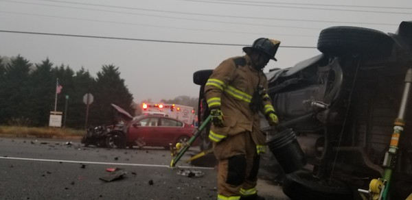 11-06-18 Serious T-Bone Crash with Rollover in Callaway