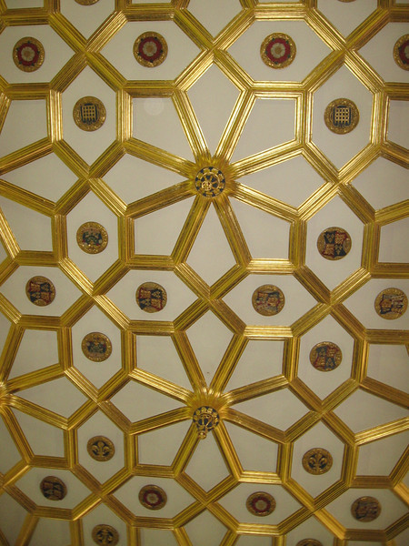 The ceiling of the Great Watching Chamber, Hampton Court Palace