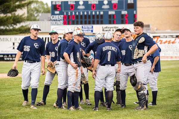 CC Baseball vs Logansport 2016-5-11