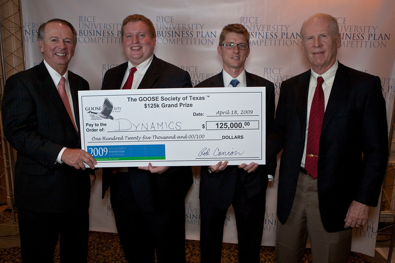 2009 Rice University Business Plan Competition