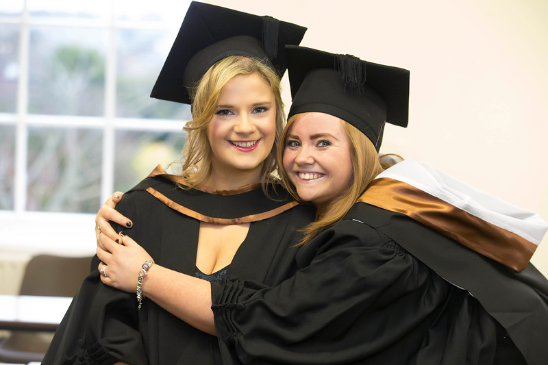 03/01/2013. Repro Free. Waterford Institute of Technology Conferring. Pictured are Vicky Davies and Ashling Murphy from Waterford who graduated BSc (Hons) in General Nursing. Picture: Patrick Browne