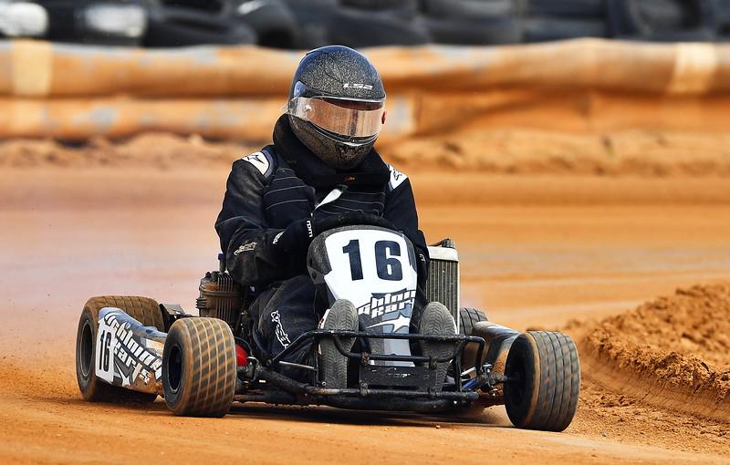 Daniel Craig No 16 Morgan Kart Club