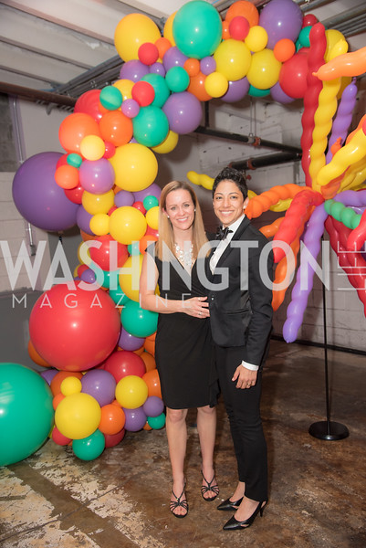 Kayleen Love, Sherwiet Witherington, The Phillips Collection, Annual Gala Afterparty, Contemporaries Bash, Union Market Dock 5. May 10, 2019, Photo by Ben Droz.