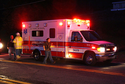 Overturned Vehicle, West Penn Pike, West Penn (11-28-2011)