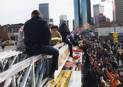 Broncos Super Bowl Parade 1999