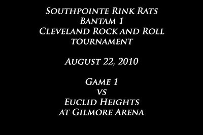October 22 to 24 2010, Cleveland Rock and Roll Tournament