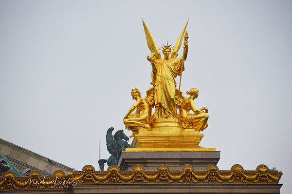 Paris Opera - Pompidou - Stravinsky Fountain