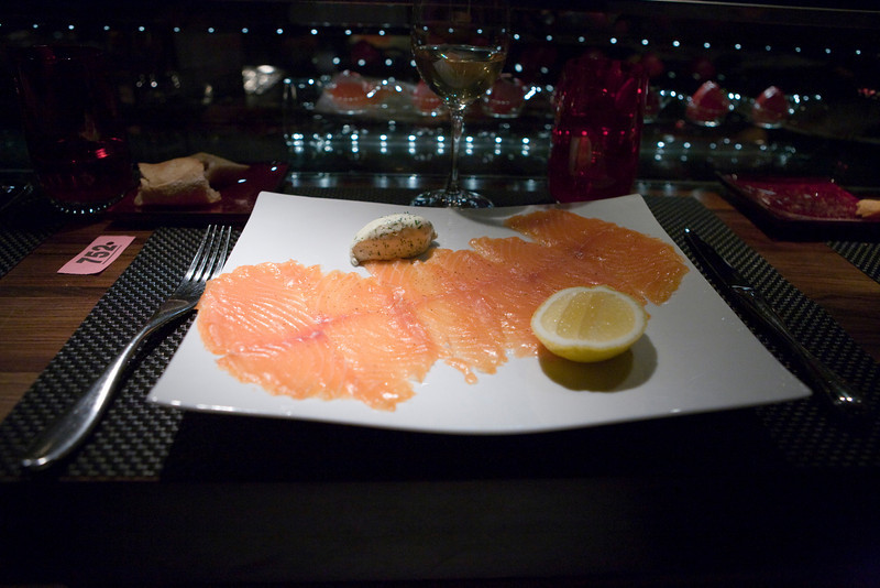 salmon fume