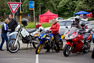 Motor Cycles for Childrens Hospital