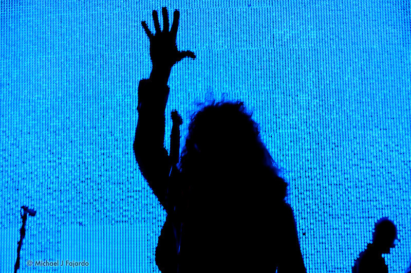 Wayne Coyne of The Flaming Lips Red Rocks Amphitheater Morrison, CO August 4, 2011