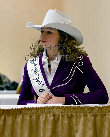 Miss Rodeo MT 2011 Getting Acquainted, Horsemanship Test & Style Show Rehearsal