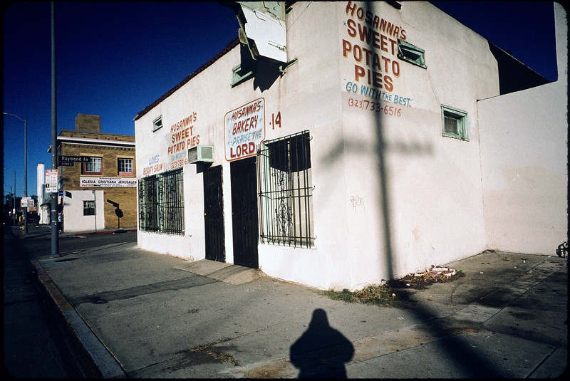 Industrial and commercial buildings, storefront churches, Los Angeles, 2004