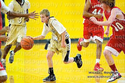 St. Anthony's Vs Luhi JV, Boys Freshman Basketball 01.16.11