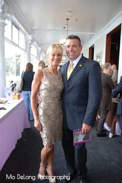 Kathleen Woodcock and Greg Morgan