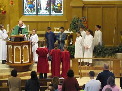 Family Liturgy Grades 6, 7, 8      Oct 2014