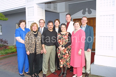 Pam Messier Class Reunion Group Photo - April 27, 2001