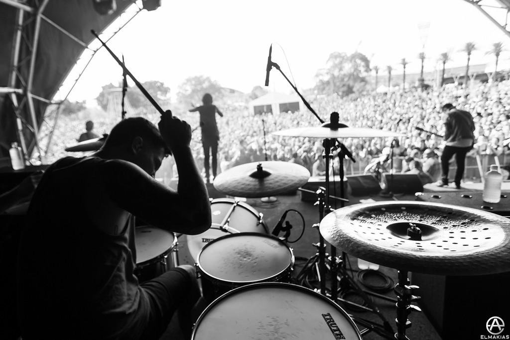Gabe Barham of Sleeping With Sirens - Soundwave Festival 2013