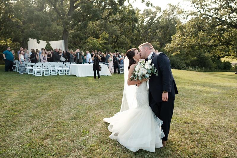 Sarah & Jeff's Pavilion at Orchard Ridge Farms Wedding