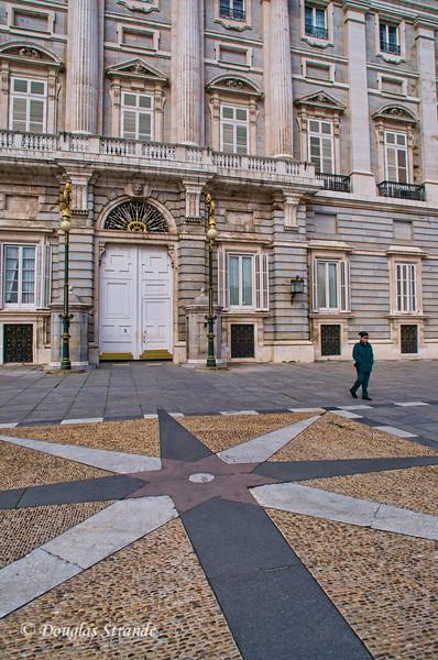 Tue 3/08 in Madrid: Royal Entrance of Royal Palace