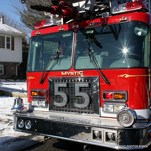 Mystic (CT) House Fire ~ Capstan Drive