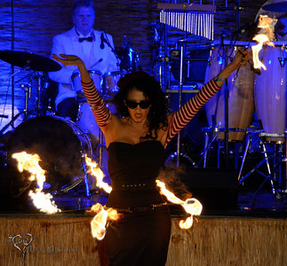 Marina the Fire Eating Mermaid