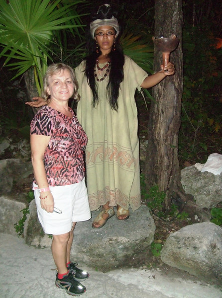 Xcaret - 22 Ancient Maya dance is characterized by transformations of human beings into supernatural beings by means of visionary trance