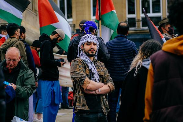 Free Palestine Demo - 22 May 2021