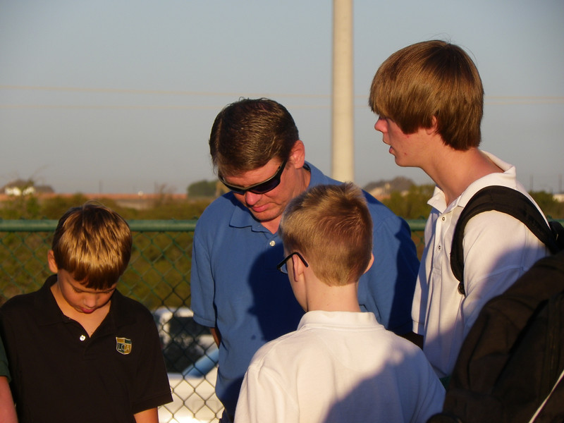 See You at the Pole - Alex Clark, Tanner Cox, and.JPG