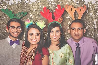 12-16-18 Atlanta Westin Photo Booth - Sameer & Deepali's Welcome Dinner - Robot Booth