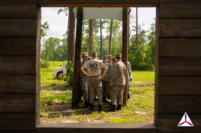 Cadets prepare for the IMT course. Photo Credits: C/2dLt Jacob Hoernlein, NC300