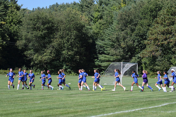 Girls' JV Soccer vs. New Hampton | September 21