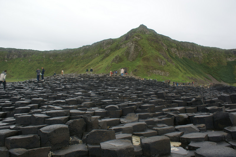 This gives you a good idea what the coastline was like at  the Giant's Causeway.