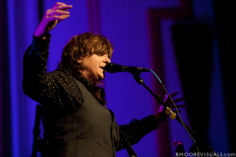 Amy Ray performs on February 18, 2010 at Capitol Theatre in Clearwater, Florida