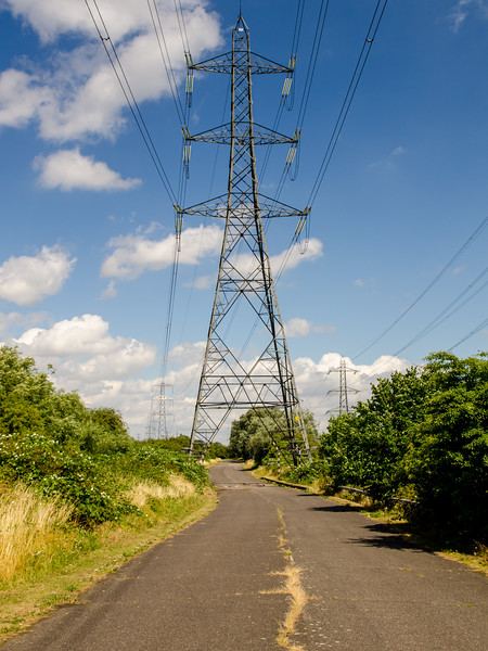 Power Lines in the Lea Valley
