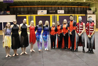 2019 Indoor Guard, Percussion & Winds