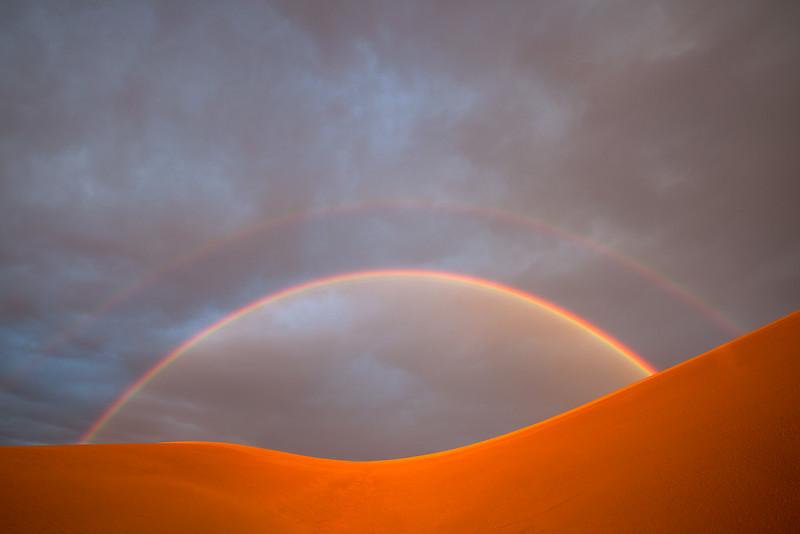 Double Rainbow Dunes