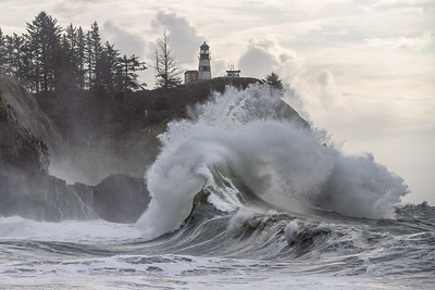 Cape Disappointment Waves