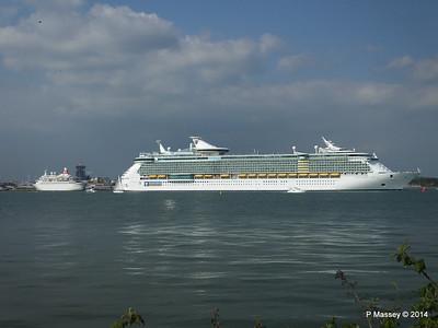6 Cruise Ships S'ton 17 May 2014