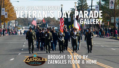 2015 Susanville Veterans Day Parade