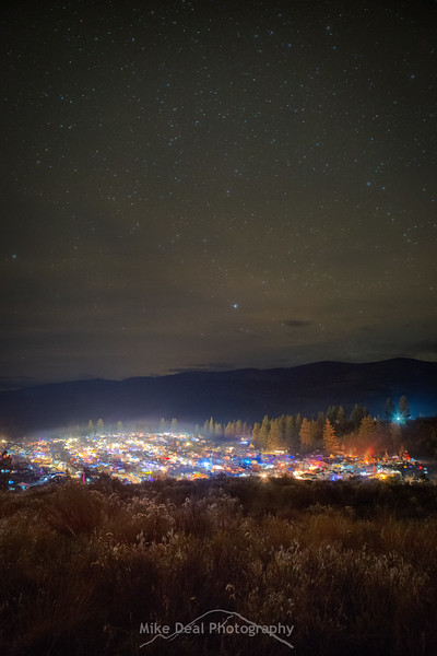 2016 Barter Faire at Night