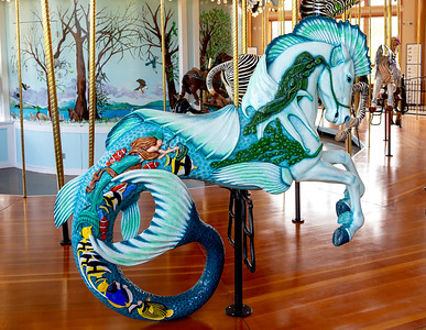 Historic Carousel and Museum, Albany, Oregon
