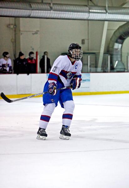 Governor Livingston Varsity Ice Hockey 12-4-09