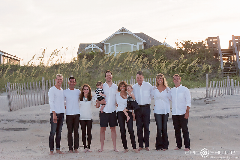 Avon, Ocean View Drive, Family Vacation, Hatteras Island, North Carolina, Family Photos, Epic Shutter Photography