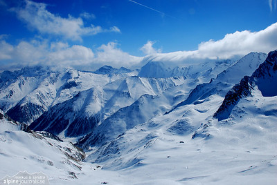 Alps in Winter