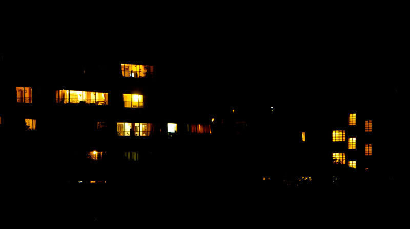 03: Night windows A quiet night in Bombay 13 February 2011 NIKON D90; 18-200 mm f/3.5-5.6; Pattern; 8.0 sec at f/14; ISO-200;