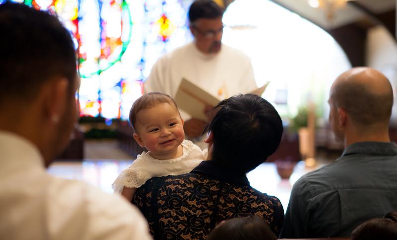 Enzo's Baptism