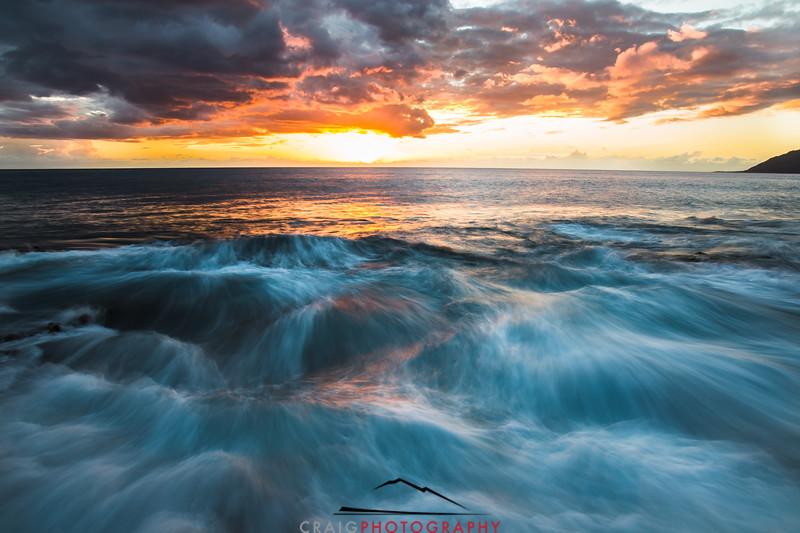 Ohikilolo Sunset, Oahu, HI #8