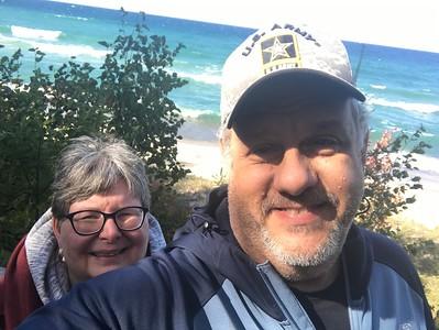 Kathleen and David's camping trip 2019