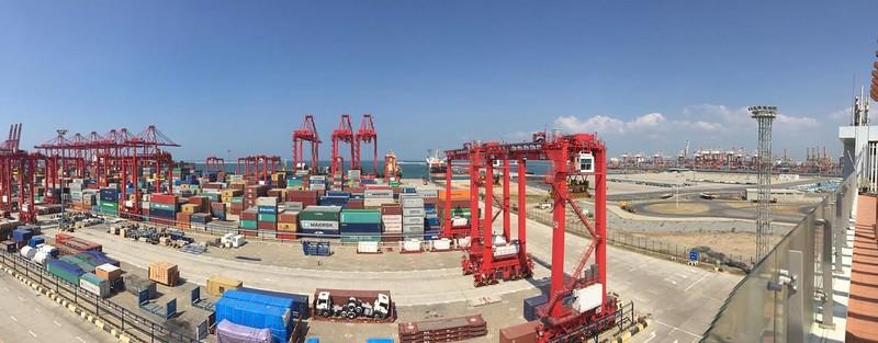 Colombo Port Sri Lanka
